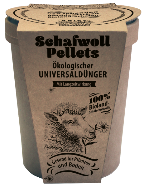 Schafwoll-Pellets Aries 450 g